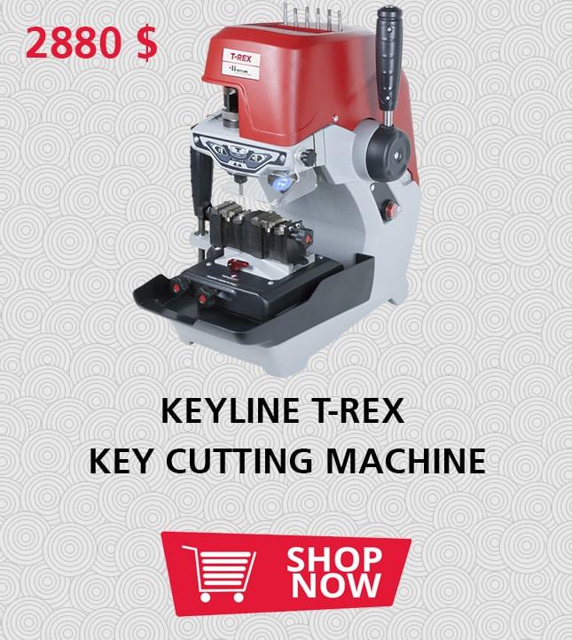 KEYLINE T-REX KEY CUTTING MACHINE