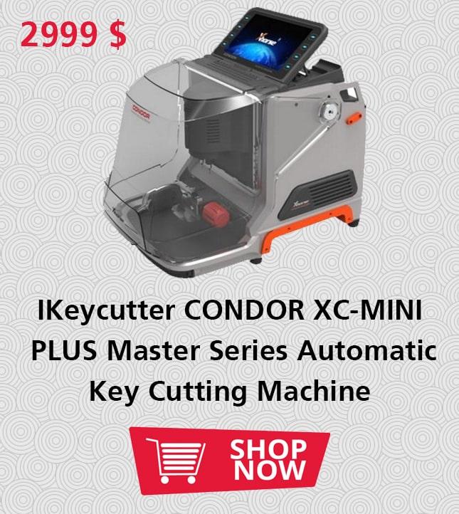 IKeycutter CONDOR XC-MINI PLUS Master Series Automatic Key Cutting Machine-SAUDI ARABIA BRANCH