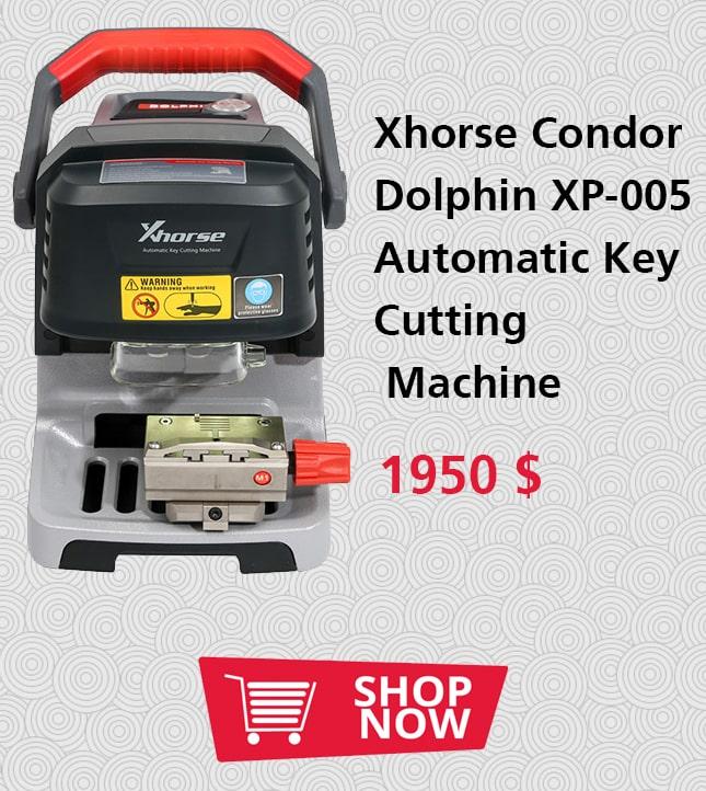 Xhorse Condor Dolphin XP-005 Automatic Key Cutting Machine