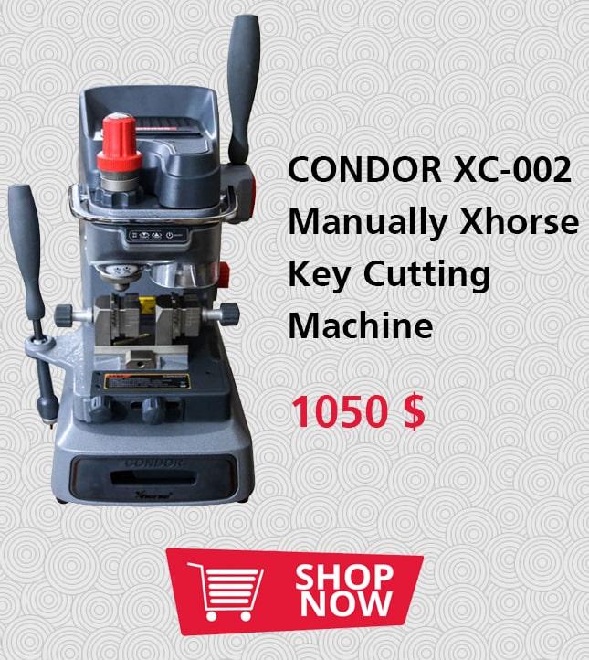 CONDOR XC-002 Manually Xhorse Key Cutting Machine