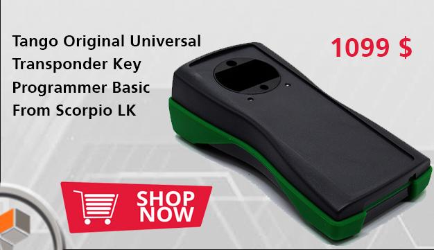 Tango Original Universal Transponder Key Programmer Basic From Scorpio LK