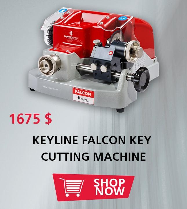 KEYLINE FALCON KEY CUTTING MACHINE