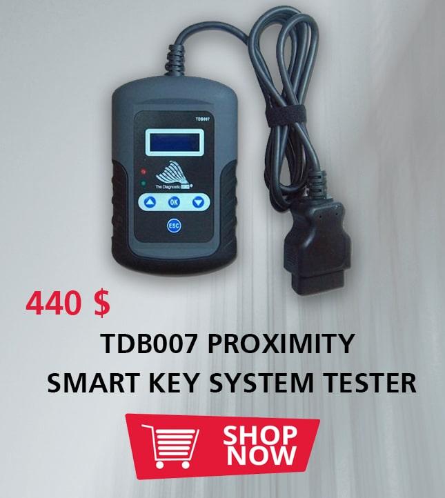 TDB007 PROXIMITY SMART KEY SYSTEM TESTER