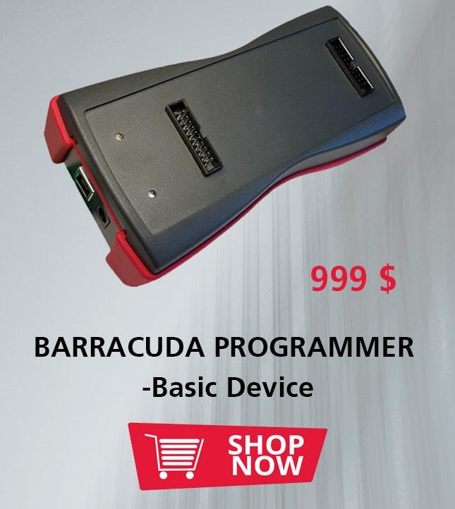 BARRACUDA PROGRAMMER -Basic Device