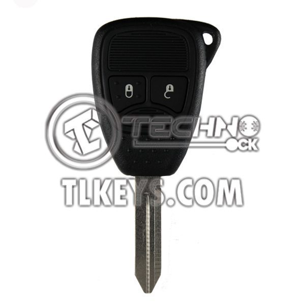 DODGE JEEP CHRYSLER KEY WITH REMOTE 2005-2009 2BUTTONS 433MHz
