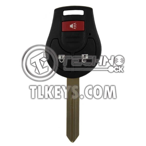 NISSAN REMOTE WITH KEY LOCK, UNLOCK PANIC 3BUTTONS 315MHz